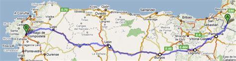 camino de santiago camino frances st jean santiago finisterre to guide books camino de santiago 2010 map photos and info of the