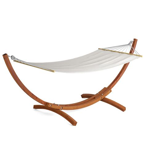 Patio Hammock With Stand Dcor Design Wood Patio Hammock With Stand Reviews