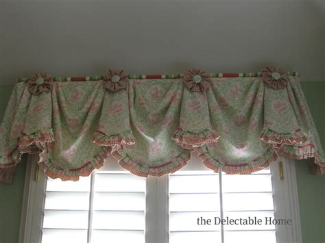 Pink And Green Valance the delectable home pink green toile