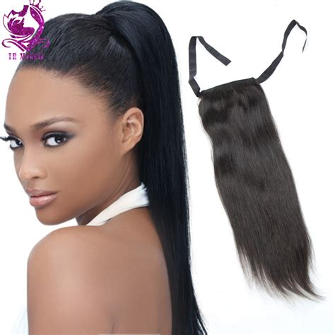 ponytail extensions hair 1b human hair drawstring ponytail extensions remy hair