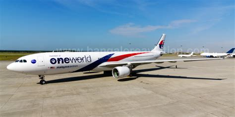 Malaysia Airlines One World Airbus A330 Passenger Airplane Metal Dieca photo essay malaysia airlines joins oneworld unveils special livery aircraft oneworld