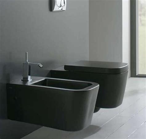 bidet noir wc suspendu noir mat 45x36