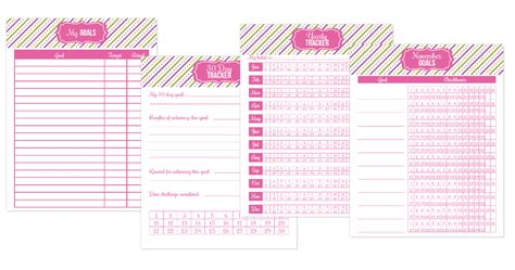 free printable goal planner 2015 home making skills life skills teach yourself how to