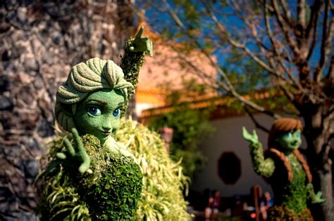 disney flower and garden festival wdwthemeparks epcot flower garden festival photos all