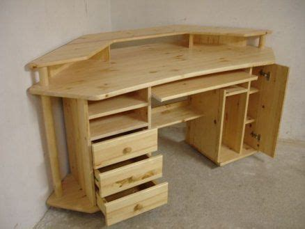 Plywood Corner Desk Plywood Computer Table Fitsneaker