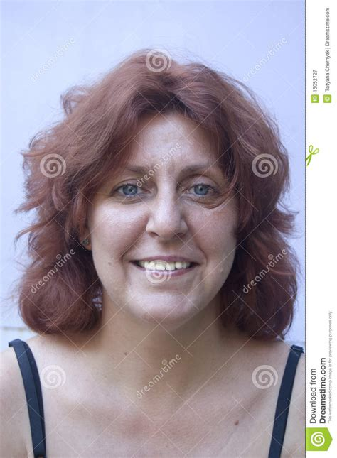 middle age women with blue hair real woman royalty free stock photography image 15052727