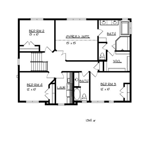 classic american homes floor plans larbrook early american home plan 032d 0722 house plans