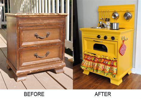 diy play kitchen for kid from old nightstand furniture diy kids kitchen on pinterest kid kitchen play kitchens