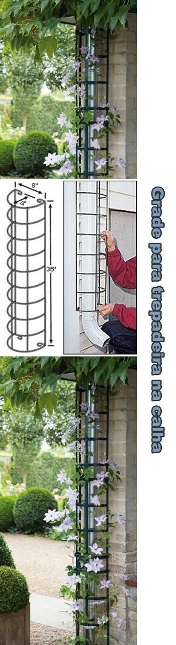 Downspout Trellis Hide The Downspout With A Trellis Hide Your Rain Spout By