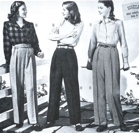 1940s womens fashion 40s women at war love slacks and love this 40s style