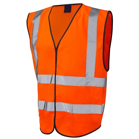Orange Lawn Chairs Orange Hi Vis Safety Vest Jacket Large 163 2 99 Oypla