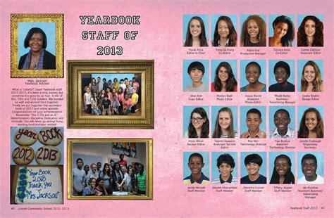 in yearbook lincoln community school digital yearbook diy