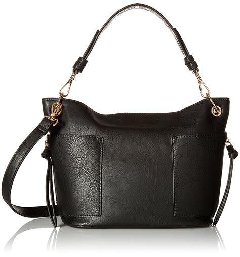 Steve Madden Handbags by Steve Madden S Keegan Small Satchel Bag Black Ebay