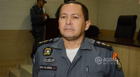 coronel e as noticias policias tenente coronel arruda 233 o novo comandante do 5 186 bpm mt