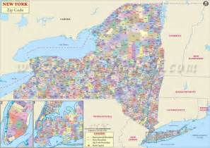 New York Zip Map by New York Zip Codes Map List Counties And Cities