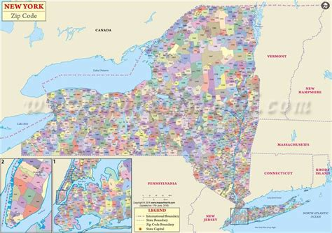 zip code map western ny new york zip codes map zip code new york usa ny postal codes