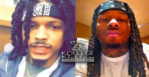 how does august alsina twist his hair montana of 300 reacts to august alsina jacking his look