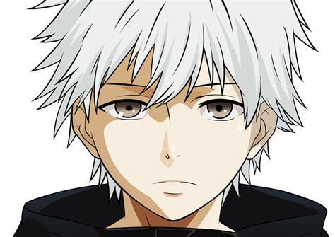 anime vector vector kaneki ken shironeki by coolez on deviantart