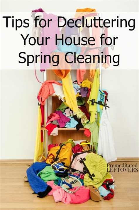 cleaning tips for home tips for decluttering your house for spring cleaning