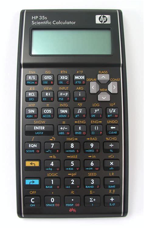 calculator y hp 35s scientific calculator