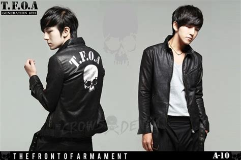 Crows Leather Jaket 6th Generation Crows Explode Fashion Jaket Kulit Crows Zero Tfoa