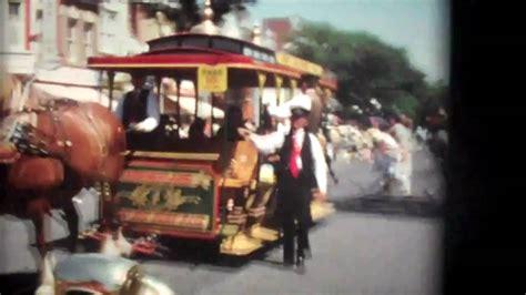 film disneyland vintage film of disneyland 1970 with several old rides now