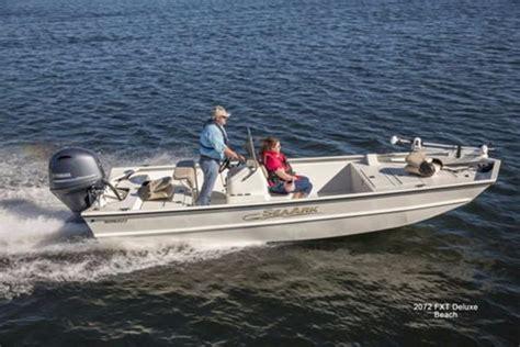 seaark welded boats seaark 2072 fx boats for sale boats