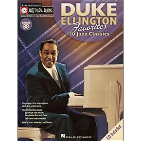 the duke of the untouchables volume 7 books hal leonard duke ellington favorites jazz play along