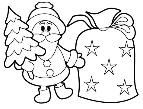 printable kids coloring pages free printable santa claus coloring pages for kids