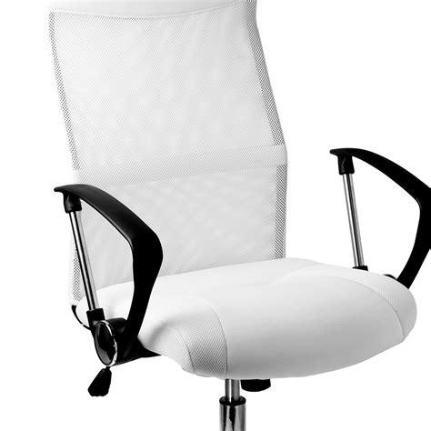 fauteuille de bureau ergonomique fauteuil chaise de bureau blanche inclinable ergonomique