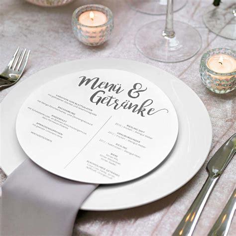 vorlage fuer menuekarte hochzeit weddingstyle collection