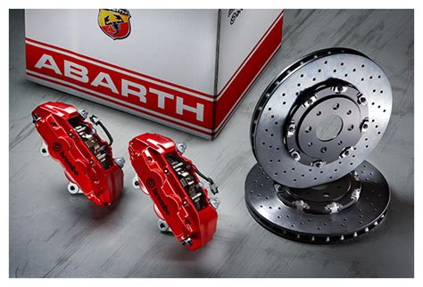 abarth brembo braking system kit