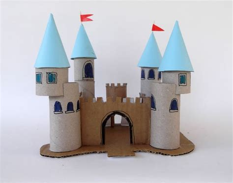 Toilet Paper Roll Castle Craft - 17 best ideas about toilet paper rolls on