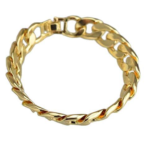 cuban link 14mm alloy bracelet bracelets