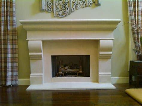 Stone Fireplace Surrounds Midcentury Atlanta By Fireplace Mantels Atlanta