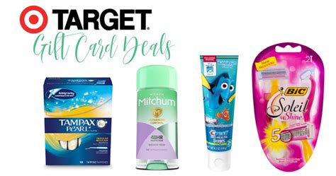 Gift Card Deals Target - money maker gift card deals at target southern savers
