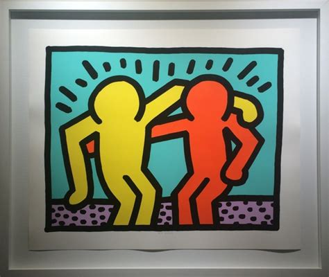 keith haring best buddies more by keith haring at soho contemporary