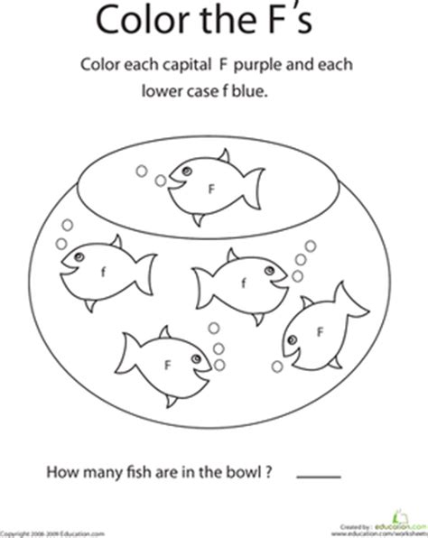 kindergarten activities letter f write the letter f worksheet education com