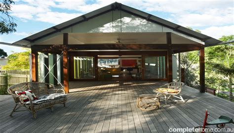 real home weatherboard cottage turned open plan family