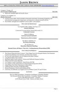 Building Manager Sle Resume by Management Resume Exles Resume Professional Writers
