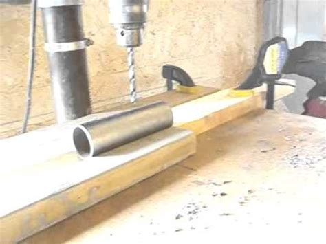 Wind Chimes Diy by Drilling Holes In Pipe Youtube