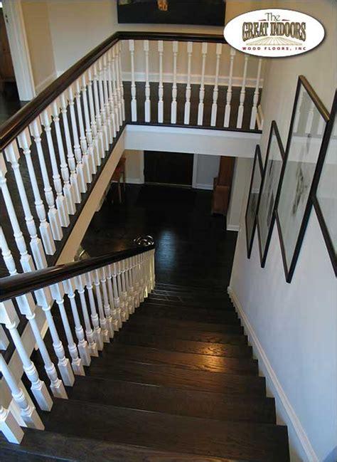 Laminate Floor Stairs by Indy Wood Floors Indianapolis Hardwood Floor Service
