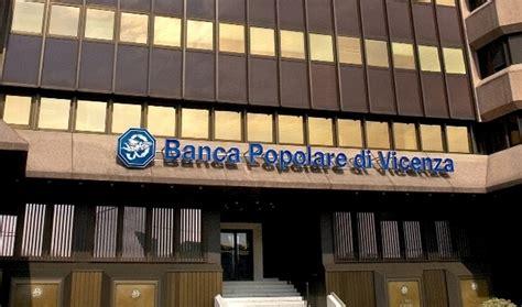 Banca Popolare A Palermo by Banca Popolare Vicenza Vertici Indagati Perquisizioni