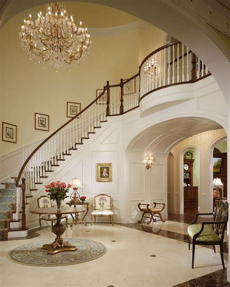 grand foyer log home grand staircase estate home florida 5 499 000