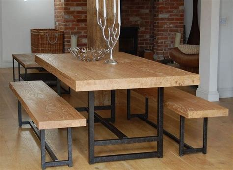 Bench Style Kitchen Table by Best 25 Dining Table With Bench Ideas On