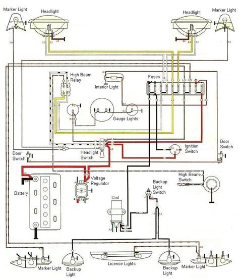 1973 karmann ghia wiring diagram fuse box and wiring diagram