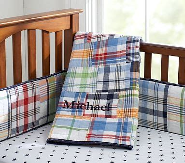Madras Crib Bedding Pin By Myers On Baby
