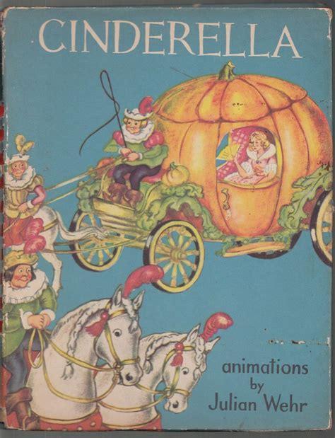 Cinderella With 30 Exciting Fairytale Sounds Book Us Snd Cind cinderella animated by julian wehr 1945 animated book 1st edition what s it worth