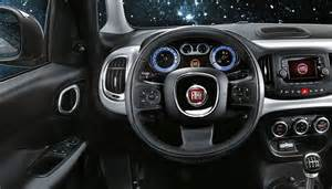 Fiat 500 Interior 2018 Fiat 500l Trekking Review Specs Features