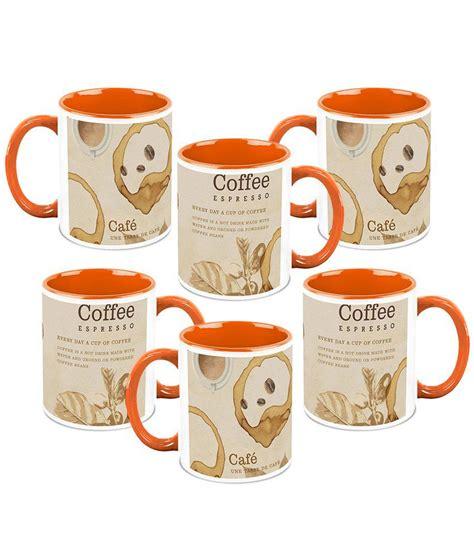 homesogood coffee on the roof top ceramic coffee mug set homesogood a coffee everyday ceramic coffee mug set of 6